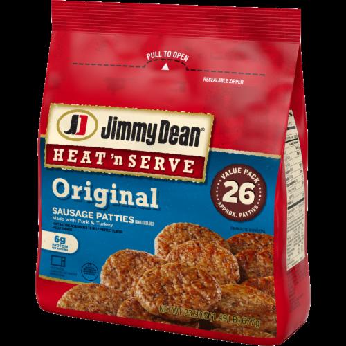 Jimmy Dean® Heat 'N Serve Original Pork Sausage Patties Perspective: right