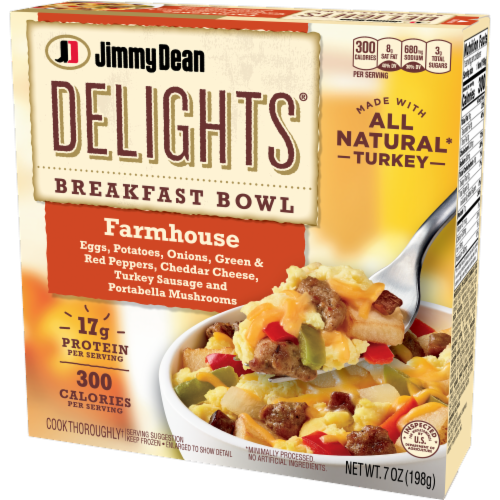 Jimmy Dean Delights Farmhouse Breakfast Bowl Perspective: right