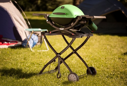 Weber Q Portable Cart Perspective: right