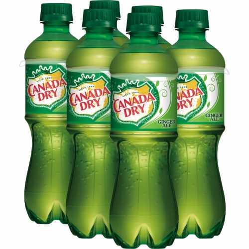 Canada Dry Ginger Ale Soda Perspective: right