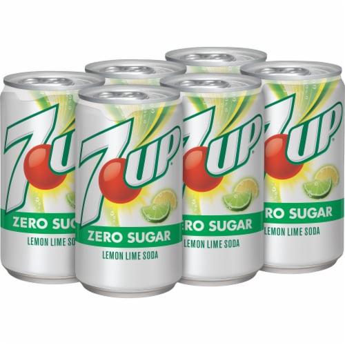 7UP® Zero Sugar Lemon-Lime Soda Perspective: right