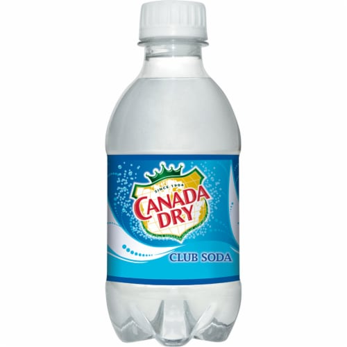 Canada Dry Club Soda Perspective: right