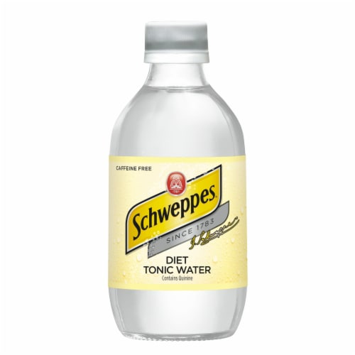 Diet Schweppes Tonic Water Perspective: right
