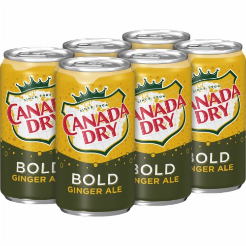 Canada Dry Bold Ginger Ale Perspective: right