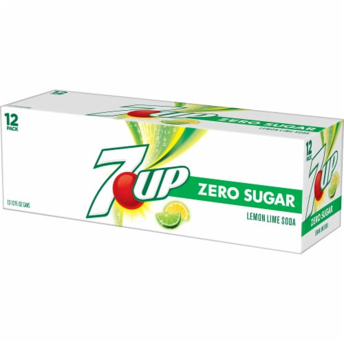 7UP Zero Sugar Lemon-Lime Soda Perspective: right