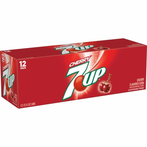 7UP Cherry Soda Perspective: right