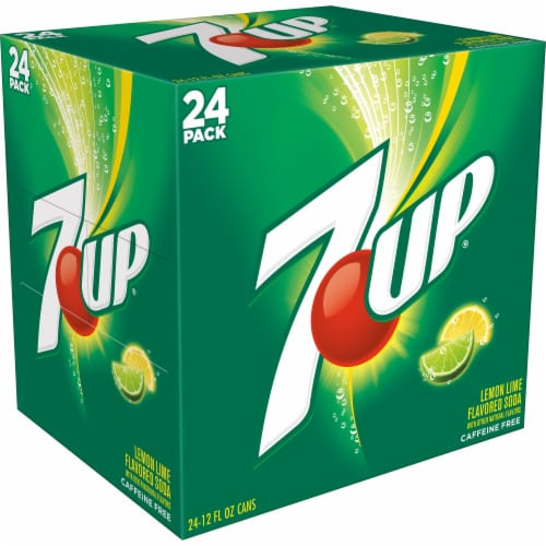 7UP Lemon Lime Soda Perspective: right