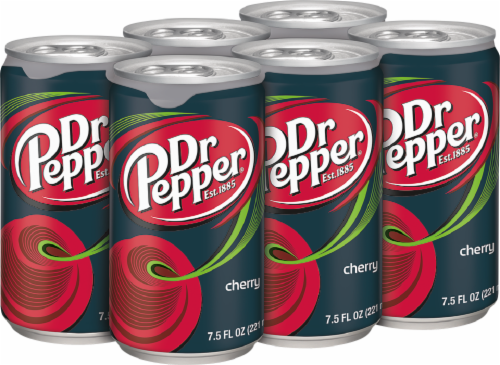 Dr Pepper Cherry Soda Perspective: right
