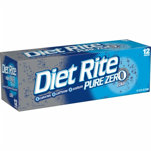 Diet Rite Cola Perspective: right