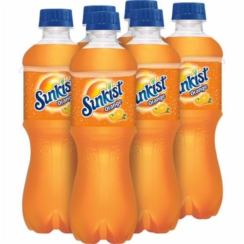 Sunkist Orange Soda Perspective: right