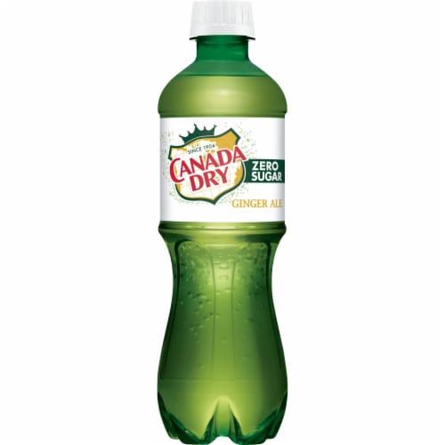 Canada Dry Zero Sugar Ginger Ale Soda Perspective: right