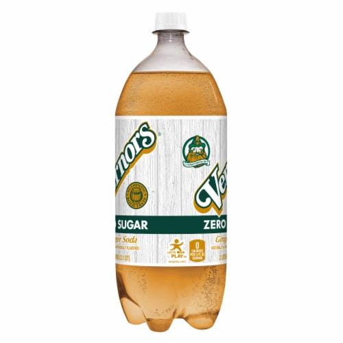 Vernors® Zero Sugar Ginger Soda Perspective: right