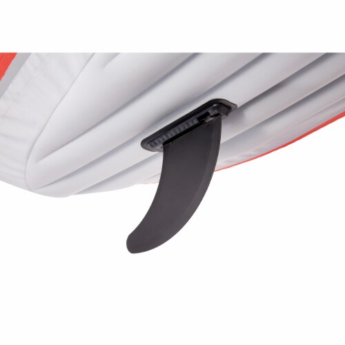 Intex Excursion Pro Inflatable 2 Person Vinyl Kayak with 2 Oars and Pump, Red Perspective: right