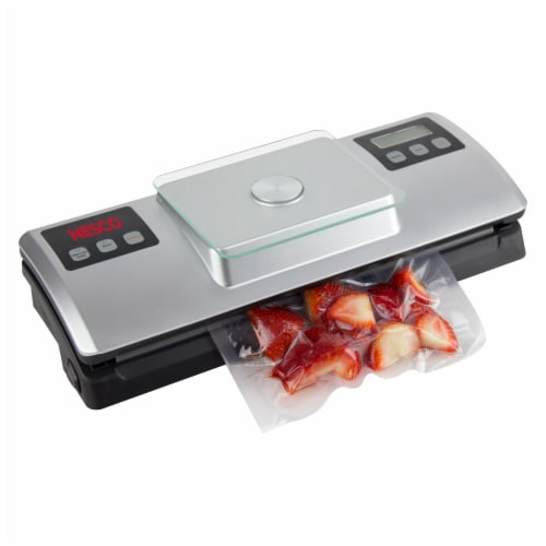 Nesco Deluxe Vacuum Sealer with Digital Scale Perspective: right