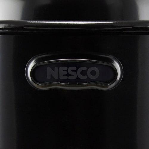 Nesco Porcelain Roaster - Black Perspective: right