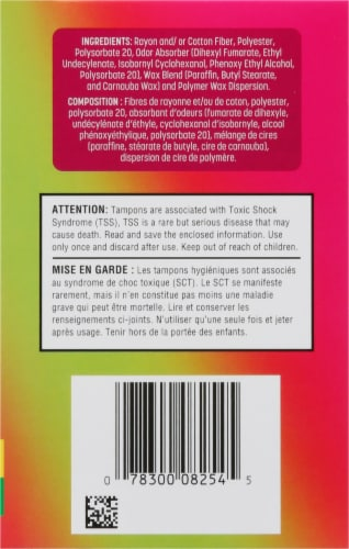 Playtex Sport Odor Shield Unscented Tampons Multipack Perspective: right