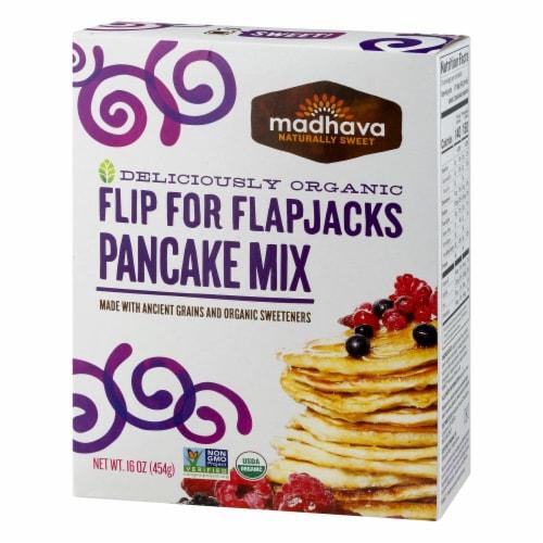Madhava Organic Flip For Flapjacks Pancake Mix Perspective: right