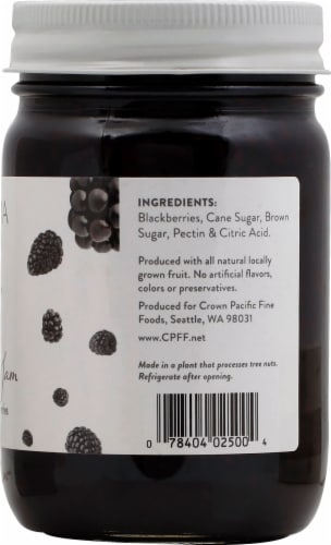 Cascadia Fruit Co. Blackberry Preserves Perspective: right