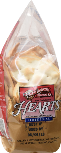 Valley Lahvosh Original Hearts Crackerbread Perspective: right