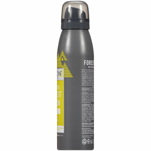 Jason Men's Forest Fresh Dry Spray Deodorant Perspective: right