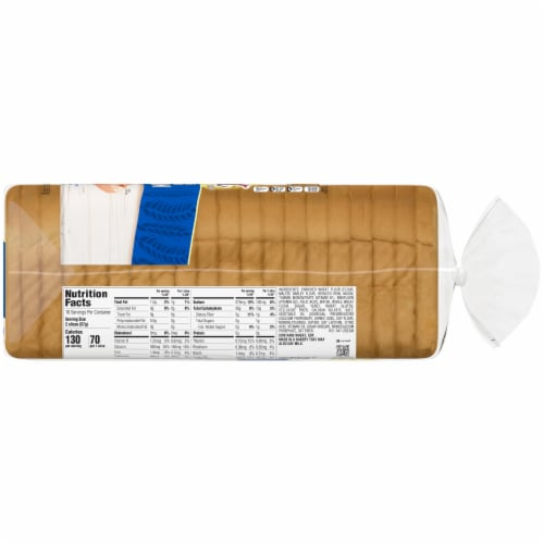 Nature's Harvest Butter Top White Bread Perspective: right