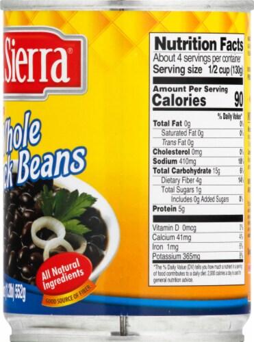 La Sierra Premium Whole Black Beans Perspective: right