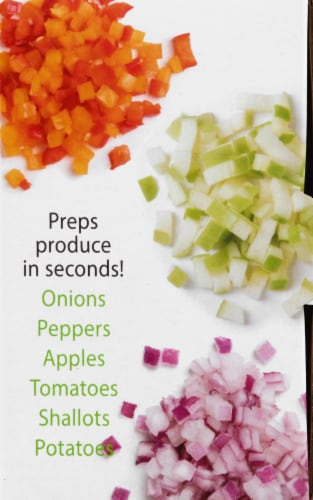 Progressive Onion Chopper - Clear/Green Perspective: right