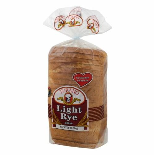Turano Light Rye Bread Perspective: right