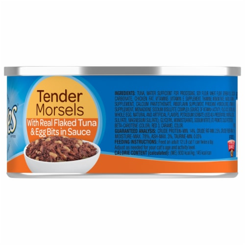 9Lives Tuna & Egg Bits in Sauce Wet Cat Food Perspective: right