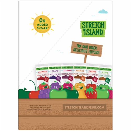 Stretch Island Original Fruit Leather Apple Perspective: right