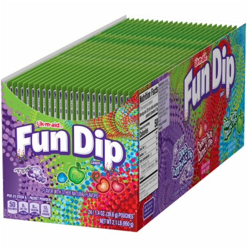Fun Dip Candy 24 Count Perspective: right