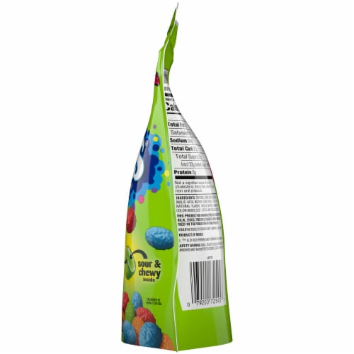 Nerds Sour Big Chewy Candy Perspective: right