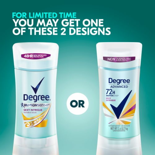 Degree® Women MotionSense™ 48-Hour Protection Sexy Intrigue Antiperspirant Deodorant Stick Perspective: right