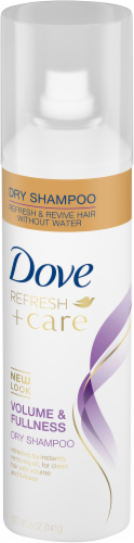 Dove Refresh + Care Volume & Fullness Dry Shampoo Perspective: right