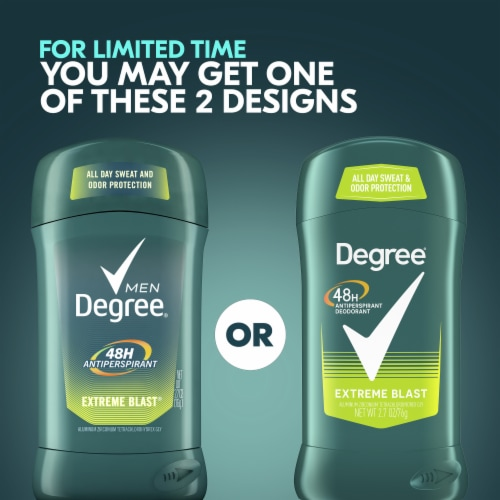 Degree Men Extreme Blast Antiperspirant & Deodorant Stick Twin Pack Perspective: right