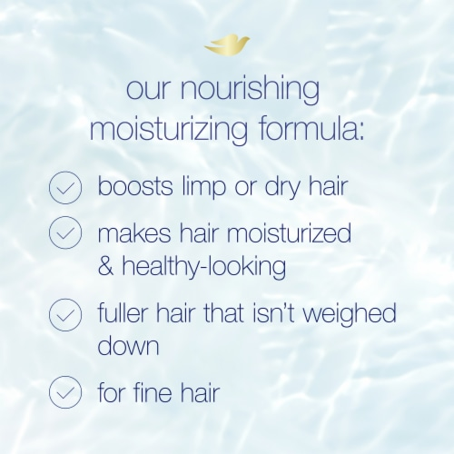 Dove Nutritive Solutions Oxygen Moisture Shampoo Perspective: right