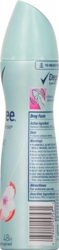 Degree Motion Sense Stay Fresh Dry Spray Antiperspirant Perspective: right