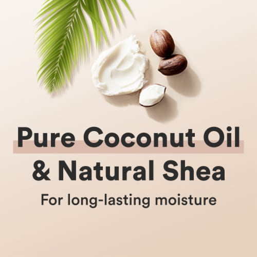 Suave Professionals Natural Shea Butter & Pure Coconut Oil Shampoo Perspective: right