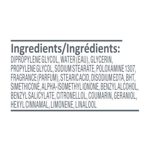 Dove Cucumber & Green Tea Aluminum Free Deodorant Perspective: right