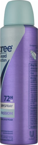 Degree 72-Hour Wetness Protection Advanced Protection Confidence Antiperspirant Deodorant Spray Perspective: right