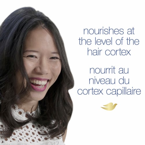 Dove Hair Therapy Hydration Spa Shampoo Perspective: right