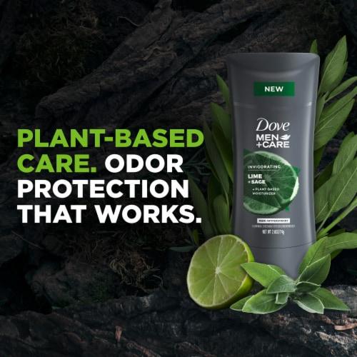 Dove Men+Care Invigorating Lime + Sage Antiperspirant Perspective: right