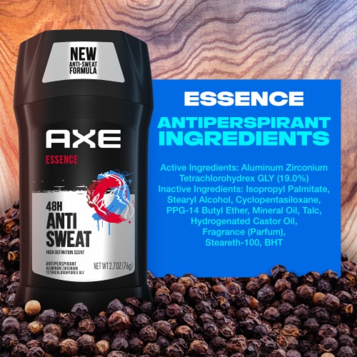 Axe Essence 48H Anti Sweat Solid Antiperspirant Perspective: right