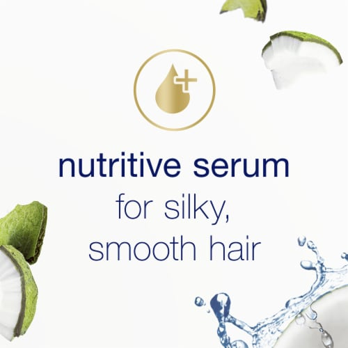 Dove Nourishing Secrets Coconut & Hydration Shampoo for Dry Hair Perspective: right