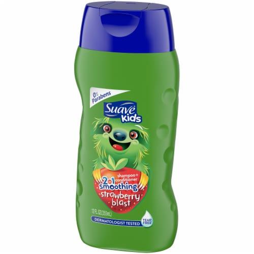 Suave Kids Strawberry Blast 2-in-1 Shampoo + Conditioner Perspective: right