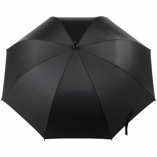 Totes Signature Open Vented Golf Umbrella - 60 in Perspective: right