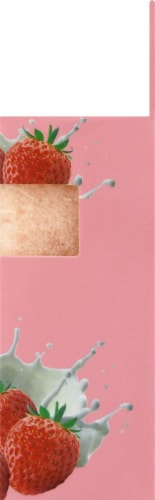 Freeman Hydrating Strawberry Milk Soap-Infused Sponge Perspective: right