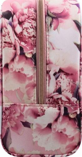 Sophia Joy Floral Wristlet Makeup Bag 3 Piece Perspective: right