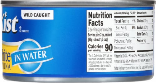 StarKist Solid White Albacore Tuna in Water Perspective: right