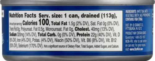 StarKist® Chunk White Albacore Tuna in Water Perspective: right